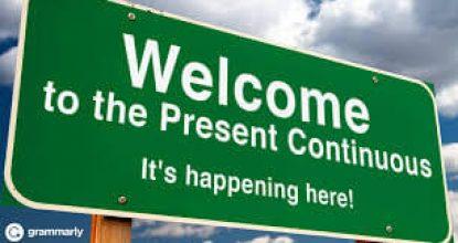 The Present Continuous Tense (теперішній тривалий час)